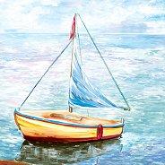 Салфетки за декупаж - Лодка - Пакет от 20 броя