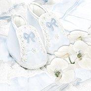 Салфетки за декупаж - Сини ританки и орхидеи - Пакет от 20 броя