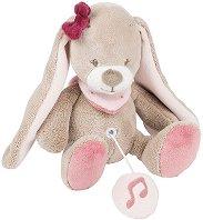 Зайче - Nina - Музикална играчка за количка или легло -