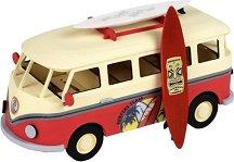 """Сърфистки ван - Дървен детски сглобяем модел от серията """"Junior Collection"""" -"""