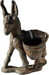 Декоративна саксия - Магаренце с дисаги