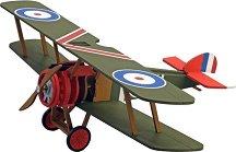 """Самолет - Sopwith Camel - Дървен детски сглобяем модел от серията """"Junior Collection"""" -"""