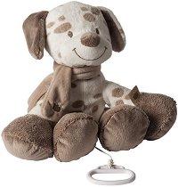 Кученце - Max - Музикална играчка за количка или легло -