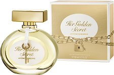 "Antonio Banderas Her Golden Secret EDT - Дамски парфюм от серията ""Secret"" -"