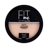 Maybelline Fit Me Matte + Poreless Powder - Матираща пудра за лице - пудра