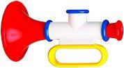 Тромпет - Бебешка музикална играчка - играчка