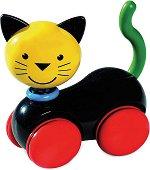 Коте - Играчка за бутане -