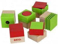 Дървени кубчета - Sensory Blocks -