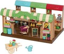 """Магазинът на фермерите - Къщички и аксесоари от серията """"Lil Woodzeez"""" - играчка"""