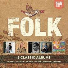 5 Classic Albums: Folk - 5 CD - компилация