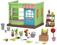 """Магазин за цветя - Къщички и аксесоари от серията """"Lil Woodzeez"""" - играчка"""