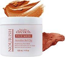 Body Drench Nourish Face Mask Australian Red Clay - Подхранващa и изсветляващa маска за лице с червена глина - маска