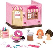 """Фризьорски салон - Къщички и аксесоари от серията """"Lil Woodzeez"""" - играчка"""