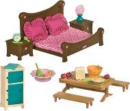 """Спалня и столова - Аксесоари за игра от серията """"Lil Woodzeez"""" - играчка"""