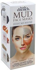 Body Drench Mud Face Masks Instant Skin Boosters - Комплект от 3 вида маски за лице -