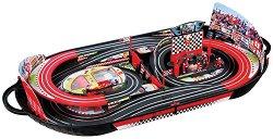 Състезателна писта - Slot Racing - В куфар с 2 коли - играчка