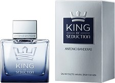 "Antonio Banderas King of Seduction EDT - Мъжки парфюм от серията ""Seduction"" -"