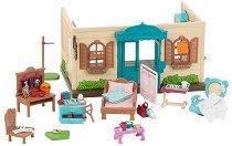 """Клиника - Къщички и аксесоари от серията """"Lil Woodzeez"""" -"""