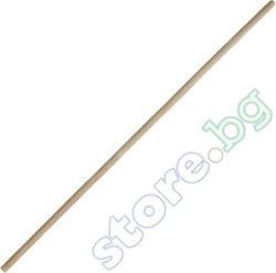 Дървена дръжка за гребло - Размер - 150 x 3.2 cm