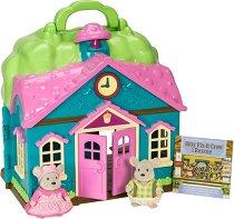 """Училището на семейство Мишлета - Къщички и аксесоари от серията """"Lil Woodzeez"""" - фигури"""