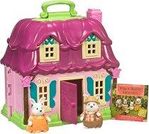 """Къщата на семейство Зайчета - Къщички и аксесоари от серията """"Lil Woodzeez"""" -"""