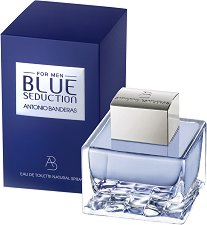 "Antonio Banderas Blue Seduction EDT - Мъжки парфюм от серията ""Seduction"" - паста за зъби"