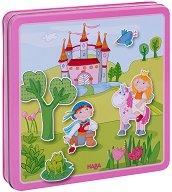 Вълшебна градина - Детски комплект с магнити - несесер