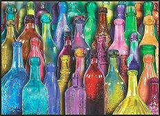 Цветни бутилки - Ейми Стюарт (Aimee Stewart) - пъзел