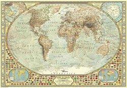 Световна карта - пъзел