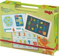 Цифрите и ти - Детски образователен комплект със 158 магнита -