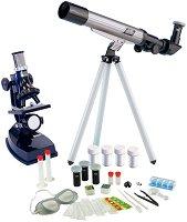 Микроскоп и телескоп - Детски изследователски комплект - образователен комплект