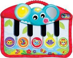 Постелка - Пиано - Бебешка музикална играчка - кукла