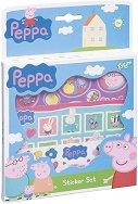 Декорирай сам със стикери - Пепа Пиг - Творчески комплект - играчка