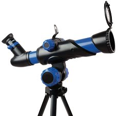 Детски астрономически телескоп с триножник - Изследователски комплект - играчка