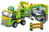 Конструктор - Камион с лаборатория - играчка