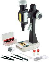 Детски микроскоп - Изследователски комплект - играчка