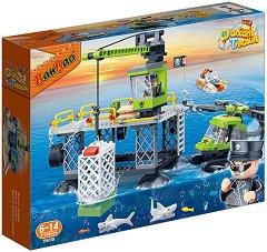 """Пиратска база - Детски конструктор от серията """"Duncans Treasure"""" -"""