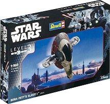 """Космически кораб - Slave I - Сглобяем модел от серията """"Revell: Star Wars"""" - макет"""