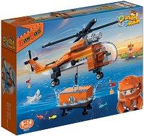 """Изследователски хеликоптер - Детски конструктор от серията """"BanBao Duncans Treasure"""" -"""