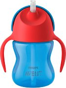 Неразливаща се чаша със сламка и дръжки - Bendy 200 ml - продукт