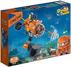 """Изследователска подводница - Детски конструктор от серията """"Duncans Treasure"""" - творчески комплект"""