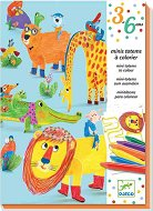 Оцвети и направи - Животни - Творчески комплект - играчка