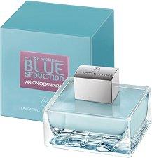 "Antonio Banderas Blue Seduction for Women EDT - Дамски парфюм от серията ""Seduction"" - продукт"