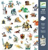 Стикери за декорация - Рицари - Комплект от 160 броя