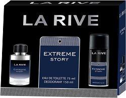 La Rive Extreme Story - Подаръчен комплект за мъже -