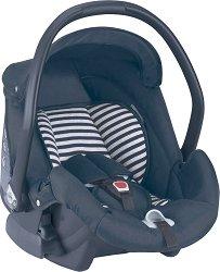 Бебешко кошче за кола - Area Zero+ Striped - За бебета от 0 месеца до 13 kg -