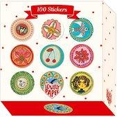 Стикери - Аурелия - Комплект от 100 броя