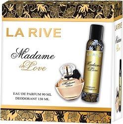 La Rive Madame in Love - Подаръчен комплект с парфюм и дезодорант - балсам