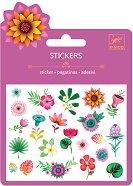 Мини стикери - Тропически цветя