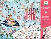 Декорирай сам - Царството на феите - Творчески комплект с ваденки - играчка